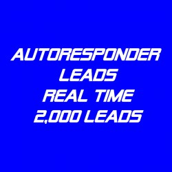 Autoresponder Leads-Real Time-2K
