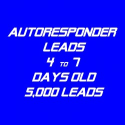 Autoresponder Leads-4-7 Days Old-5K