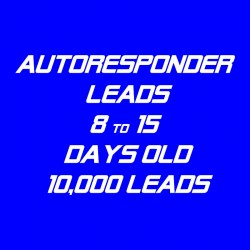 Autoresponder Leads-8-15 Days Old-10K Leads