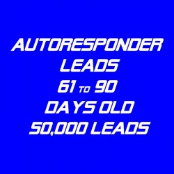 Autoresponder Leads-61-90 Days Old-50K Leads
