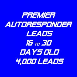 Premier Autoresponder Leads-16-30 Days Old-4K
