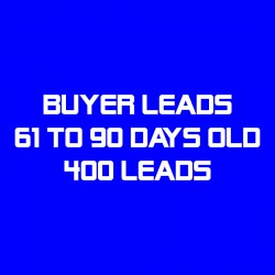 Buyer Leads-61-90 Days Old-400 Leads