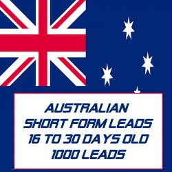 Australian Short form leads-16-30 Days Old-1000 Leads