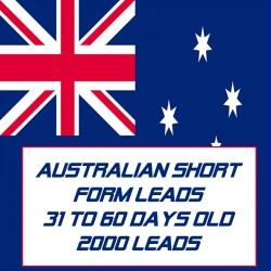 Australian Short form leads-31-60 Days Old-2000 Leads