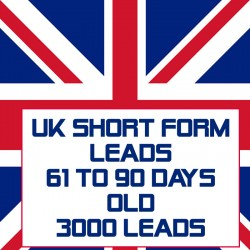 UK Short form leads-61-90 Days Old-3000 Leads