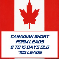 Canadian Short form leads-8-15 Days Old-700 Leads