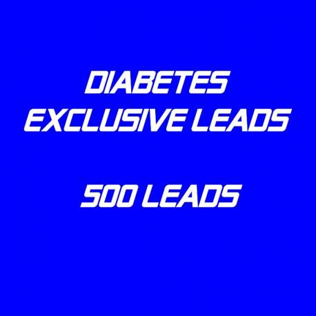 Diabetes Exclusive Leads