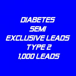 Diabetes Semi-Exclusive Leads Type 2