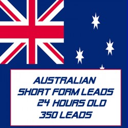 Australian Short form leads-24 Hours Old-350 Leads