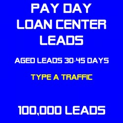 Payday Loan Center Aged Leads(Type A Traffic)