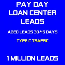 Payday Loan Center Aged Leads(Type C Traffic)