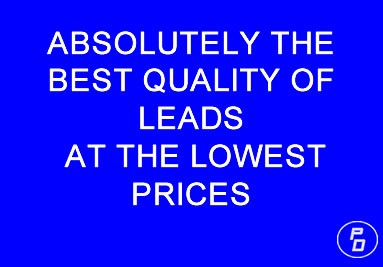 Best Quality Leads